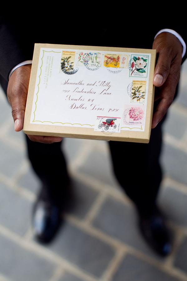 boxed invitation