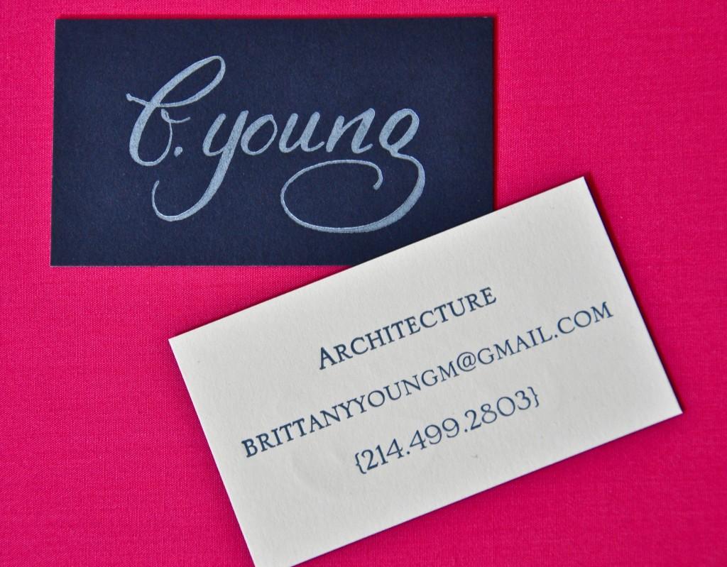 architect, dallas calligrapher