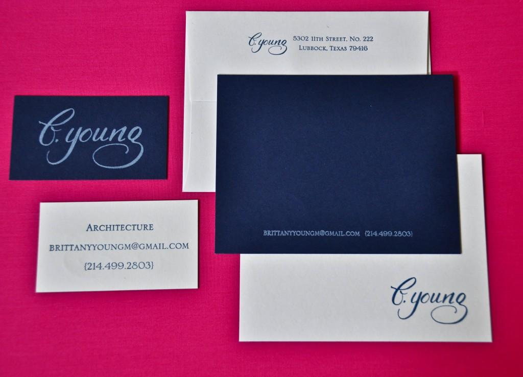 architect, dallas calligraphy
