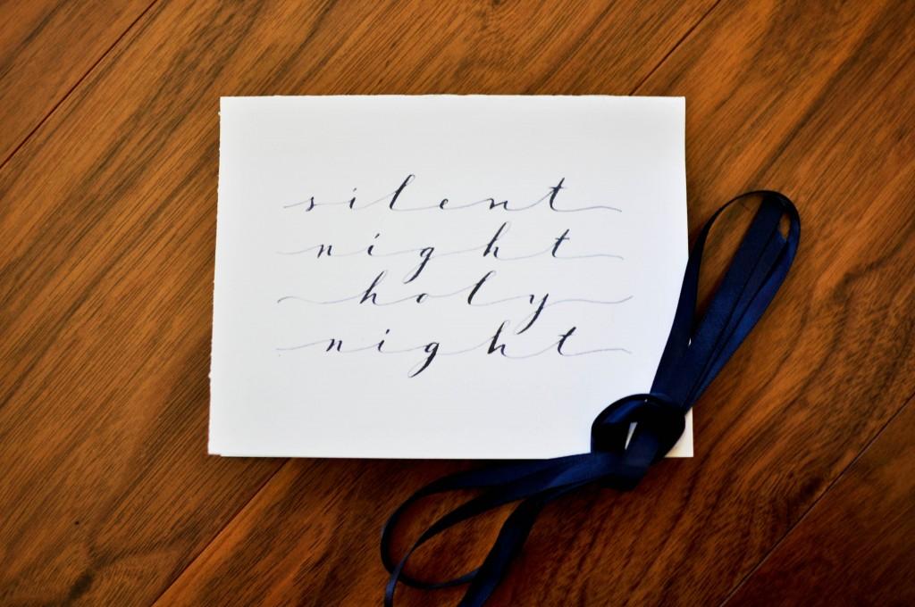 holiday calligrapher