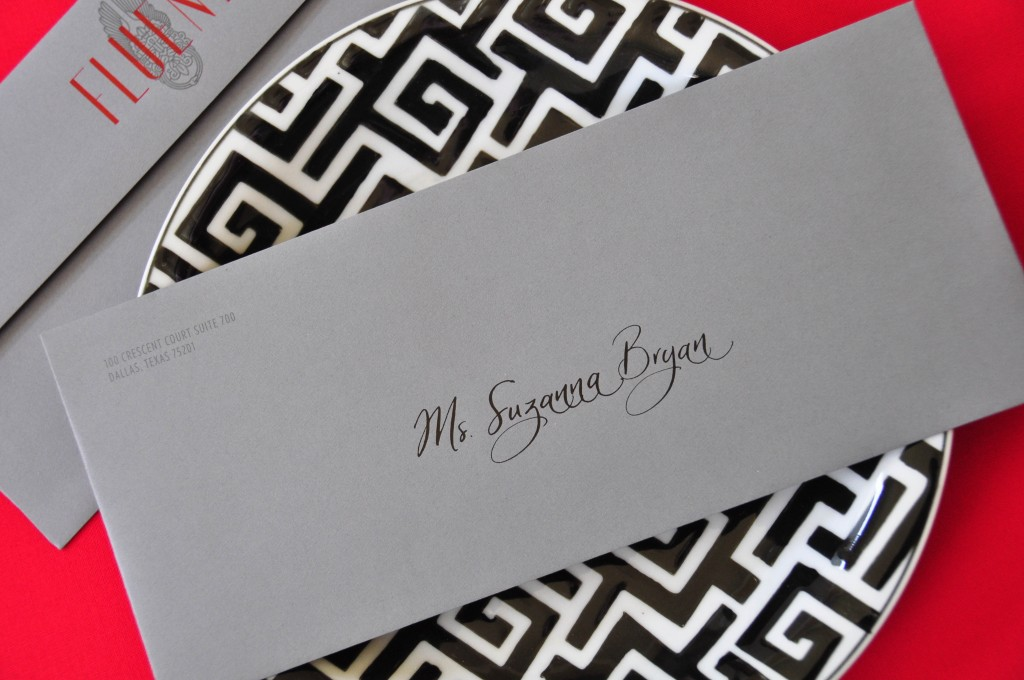 Dallas Concierge Calligrapher
