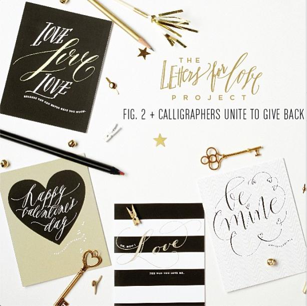 charitable calligraphy