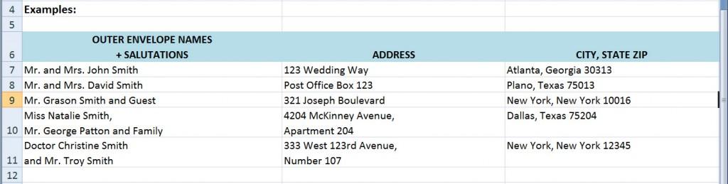 wedding guest list tips