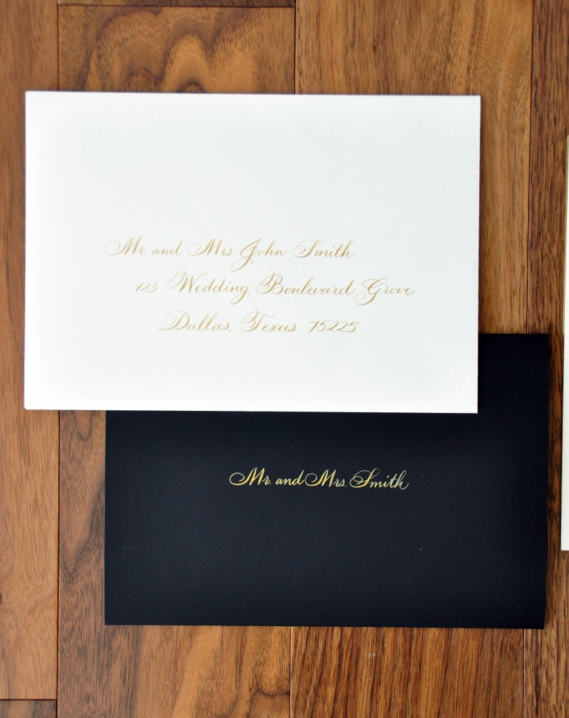 Wedding calligrapher inner envelope left handed calligrapher wedding envelopes monicamarmolfo Images