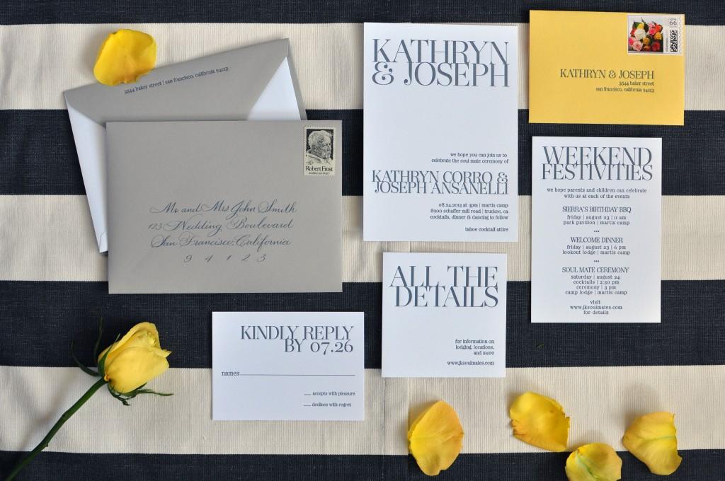 Wedding Calligraphy California