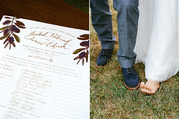 Virginia Calligraphy - Marriage Certificate