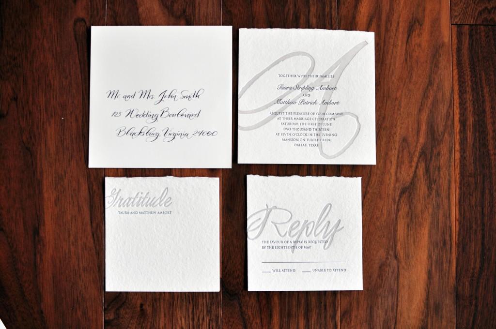 luxury wedding calligrapher