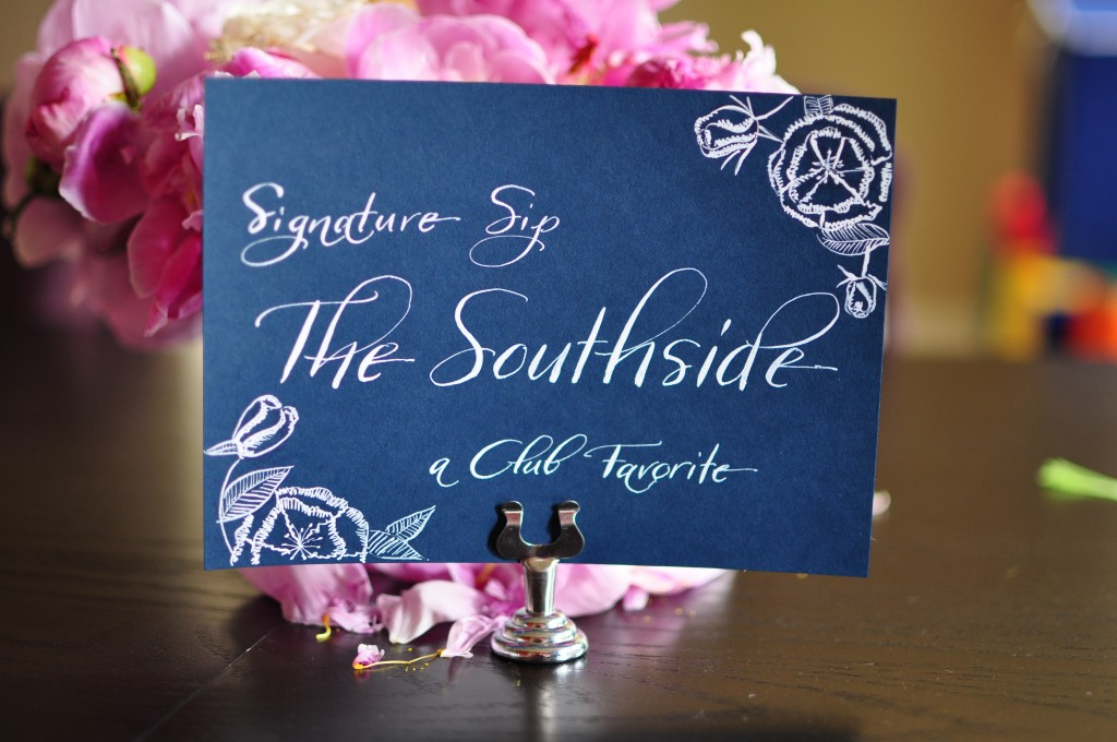 Wedding Calligraphy Signs