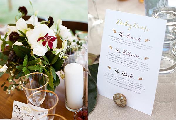 dallas wedding calligraphy