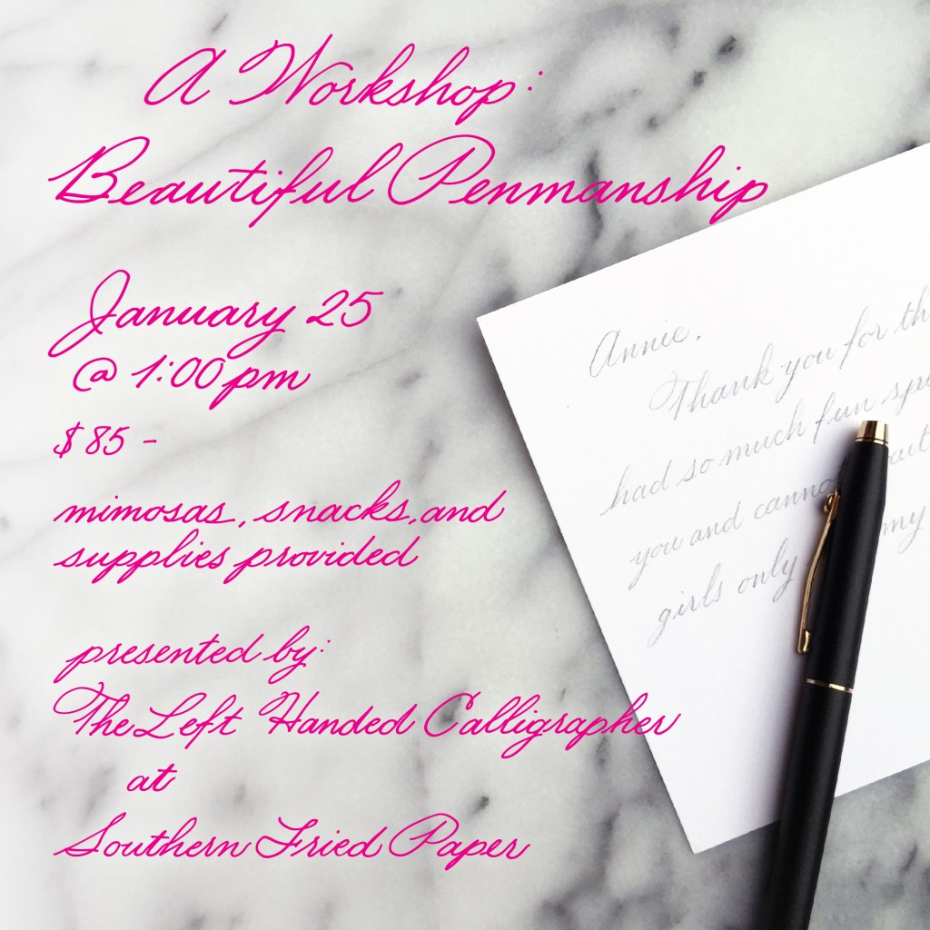 Dallas Calligraphy Classes