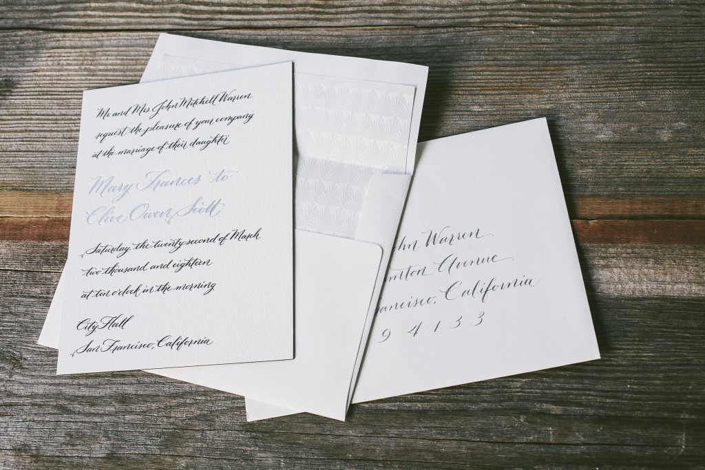 Luxury Wedding Calligrapher