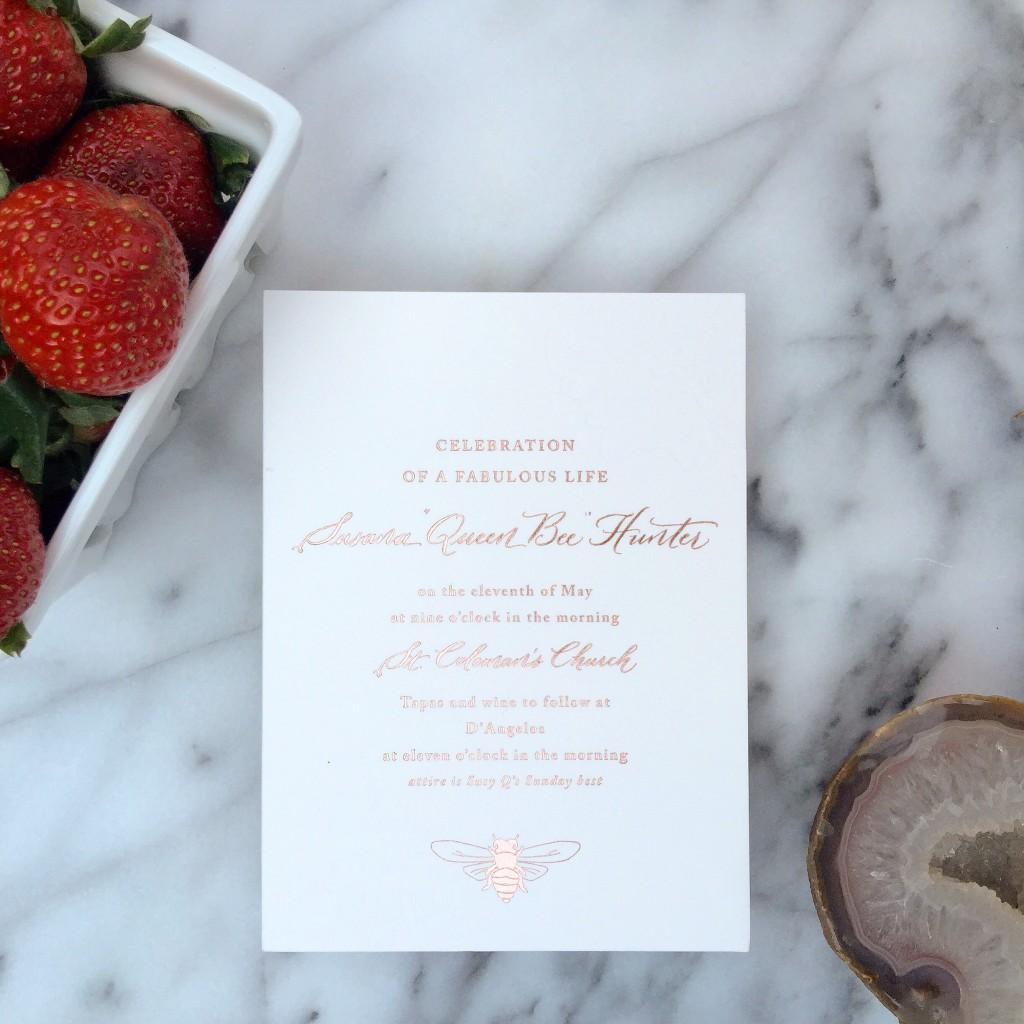 Event Calligrapher Weddings