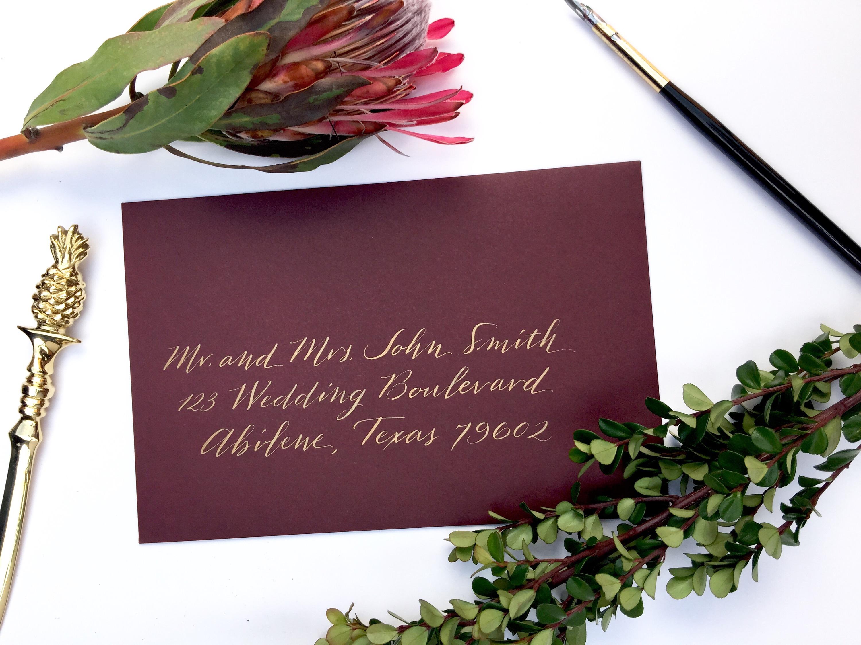austin calligrapher