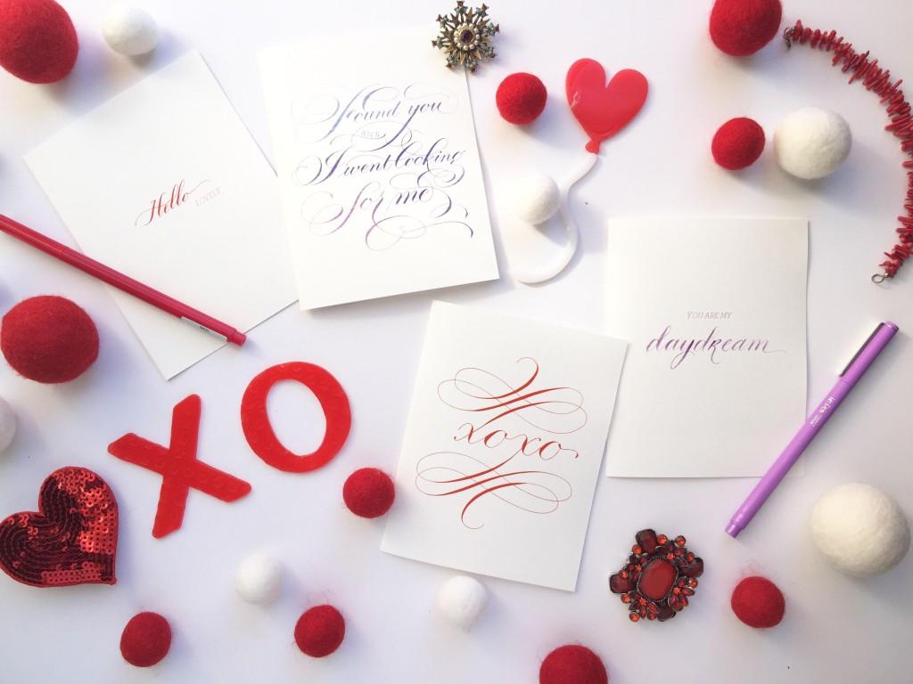 dallas texas calligraphy