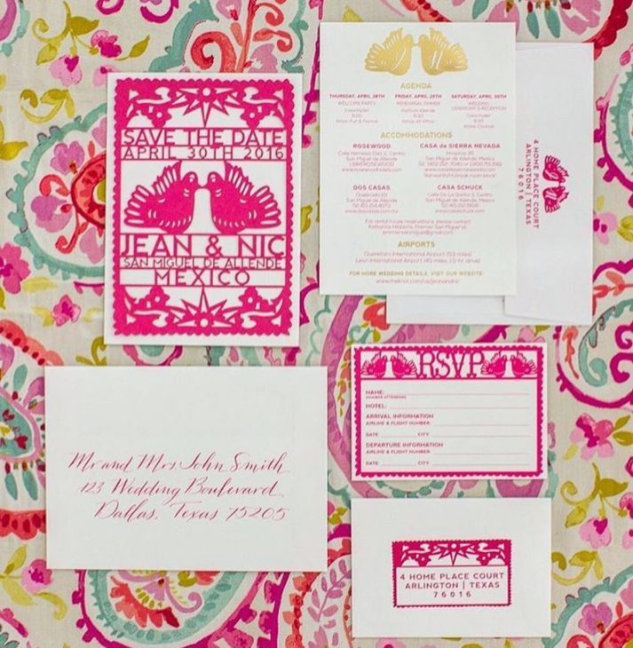 dallas texas wedding calligrapher