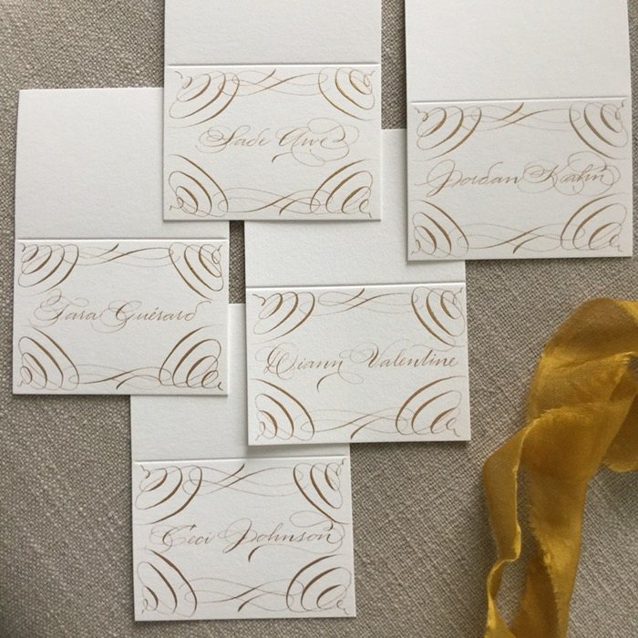 new york wedding calligrapher