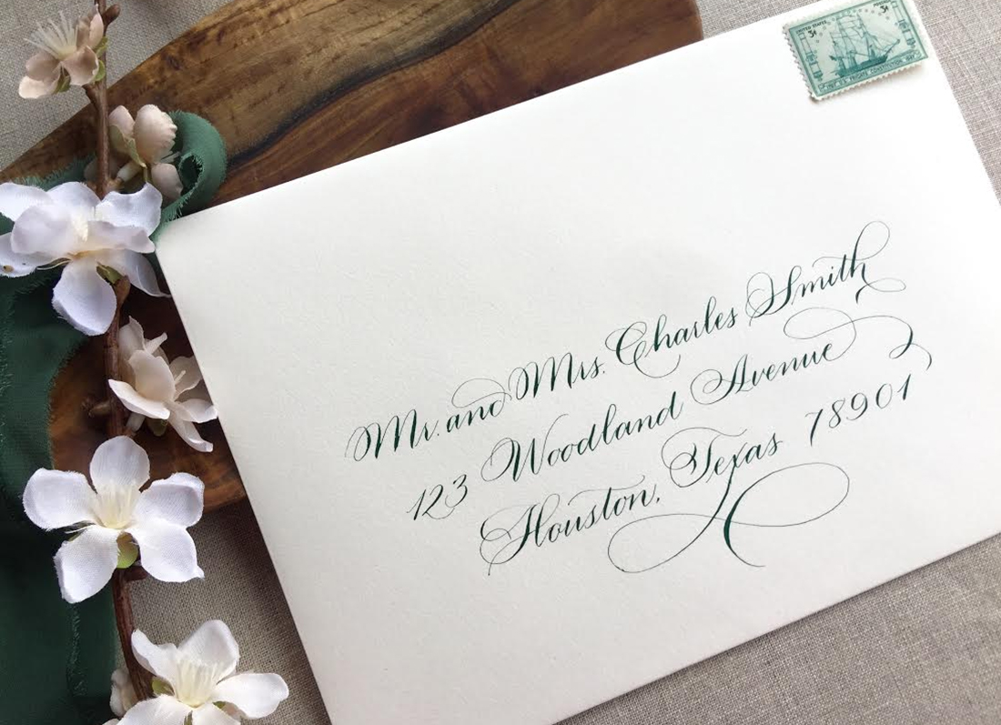 Dallas Calligraphy | The Left Handed Calligrapher
