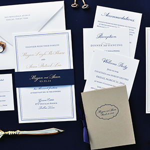 Dallas Wedding Calligrapher   The Left Handed Calligrapher