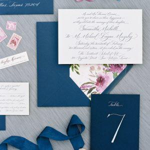 austin wedding calligrapher