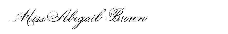 New York Calligraphy | The Left Handed Calligrapher